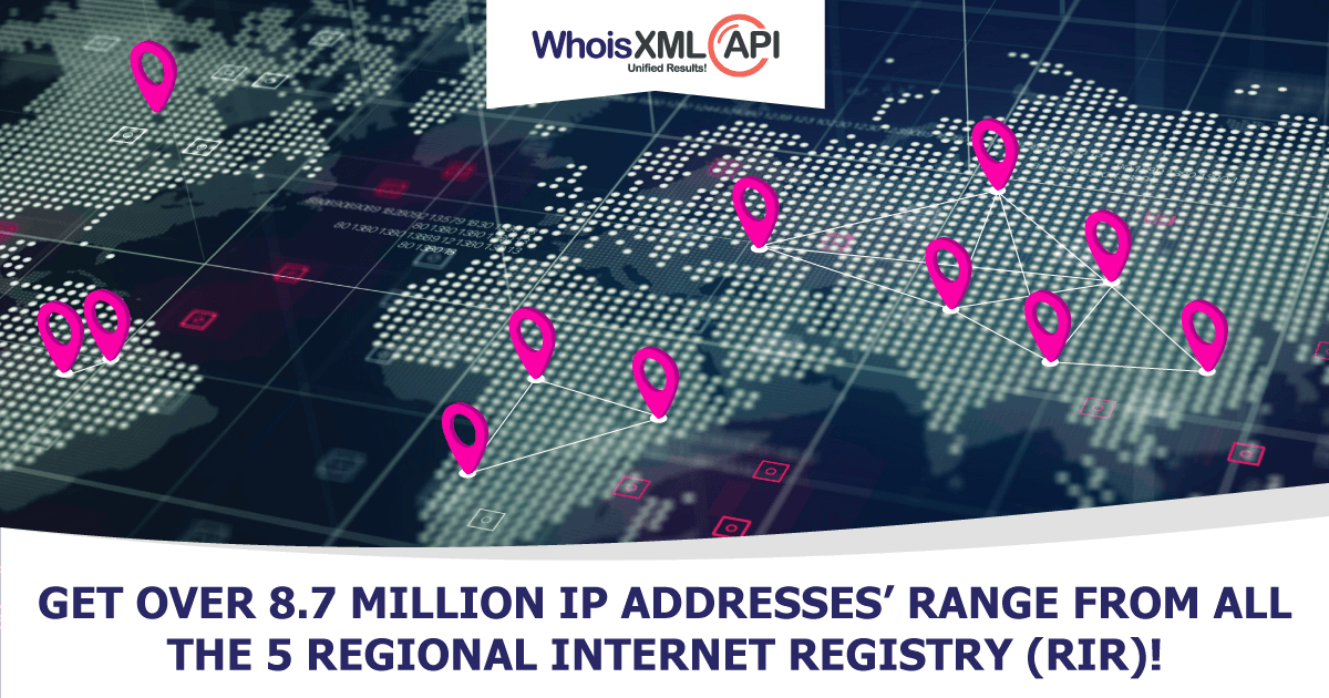 How To Map IP Ranges To Their Organization?