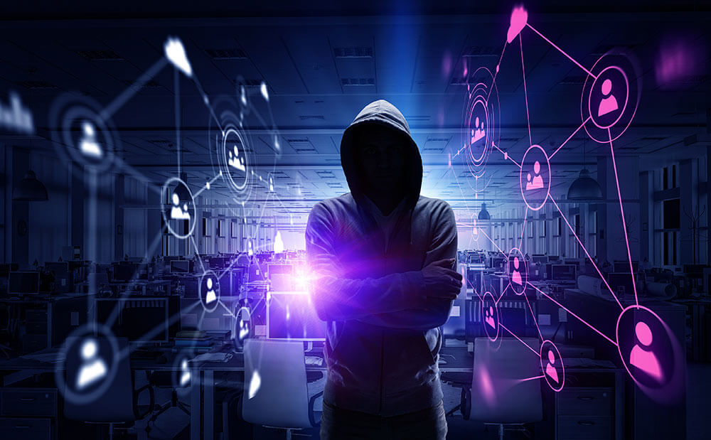 Tracking Domains for Cyber Self-Defense